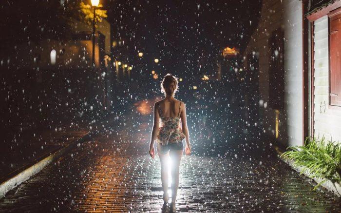 Мелкий дождик