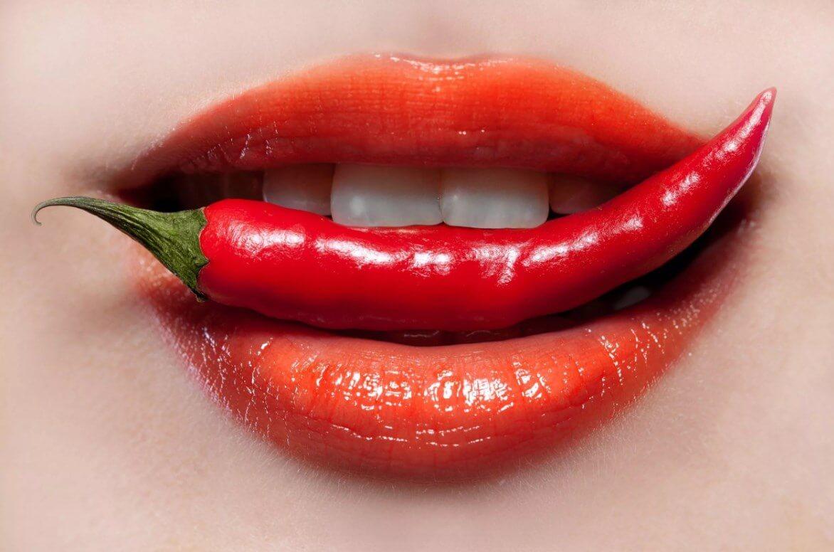 К чему сильно горят и краснеют губы