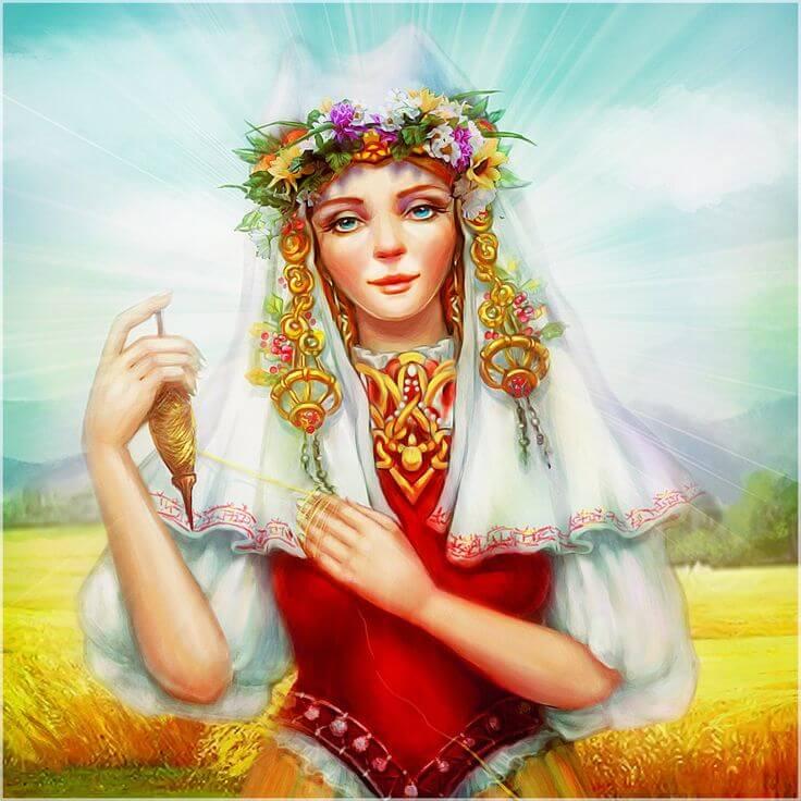 Славянские символы: богиня Макошь