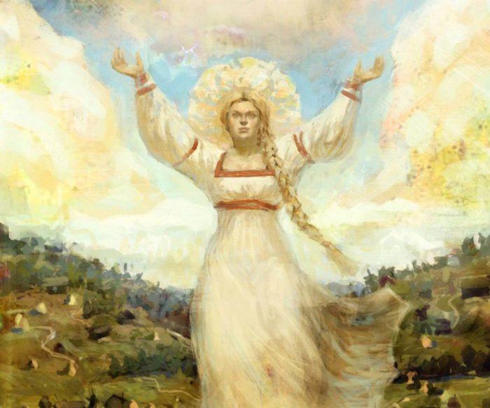 О богине и ее значении в славянской культуре