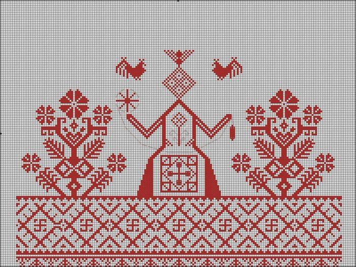 Вышивка символики