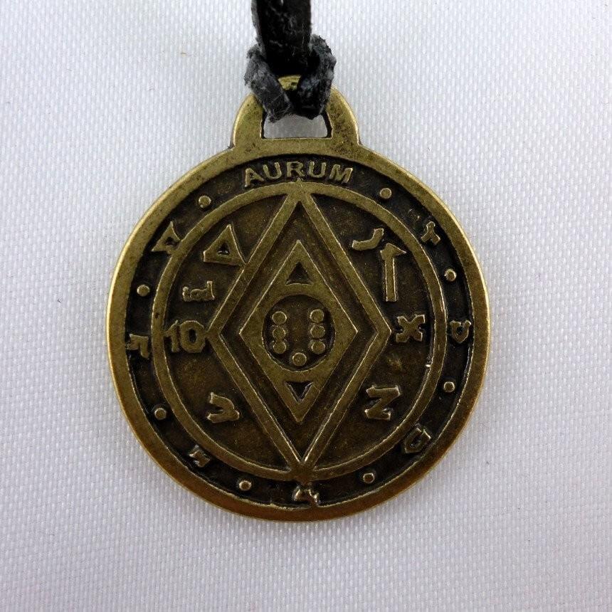 Пентакль Соломона для богатства и удачи
