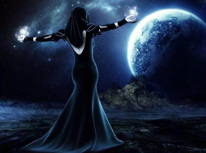 Черная магия в полнолуние