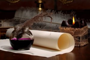 Ритуалы с письмом