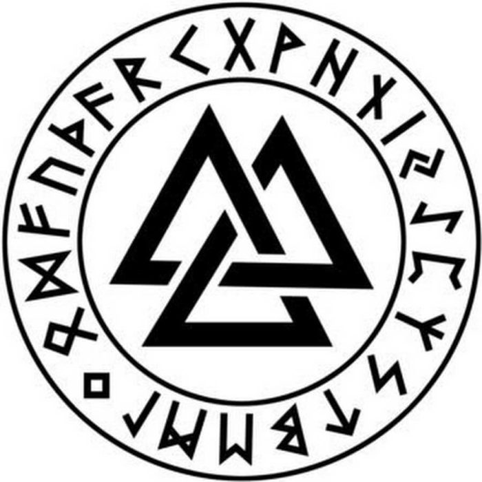 Интерпретация символа валькнут