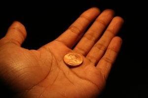 Ритуал с найденной монетой