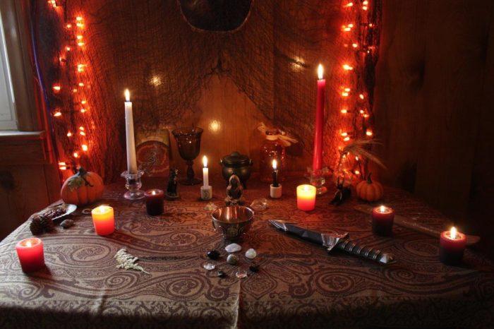 Ритуалы со свечами