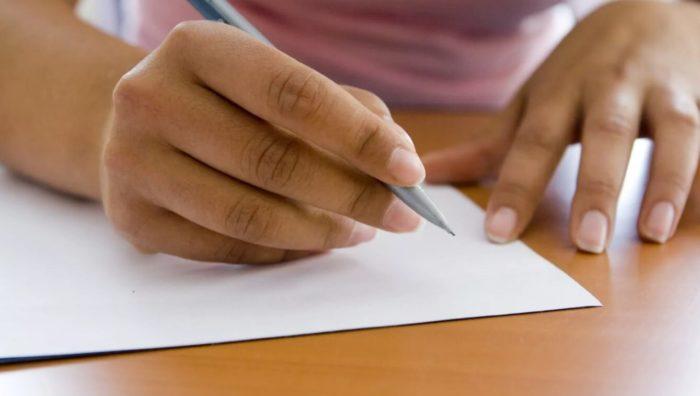 Заговор с помощью записки