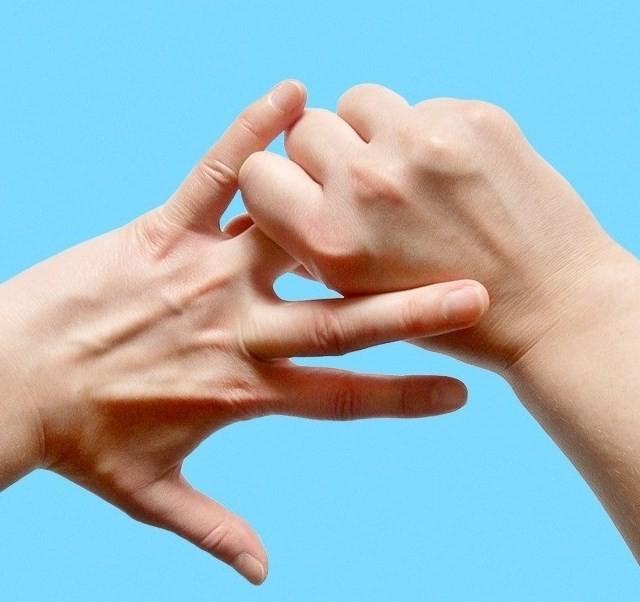 Почему чешется безымянный палец