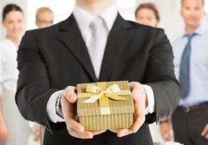 Суеверия о заранее врученном подарке