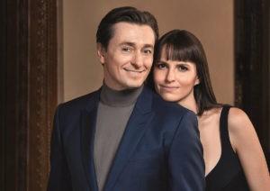Сергей Безруков и Анна Маттисон