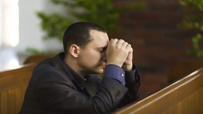 Сходить в церковь и попросить у Бога прощения