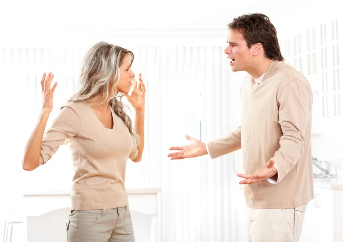 Ссора с любимым человеком