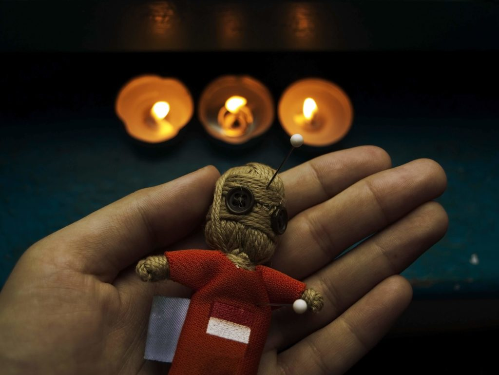 Кукла Вуду оживление