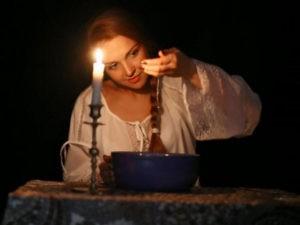 Обряд со свечей