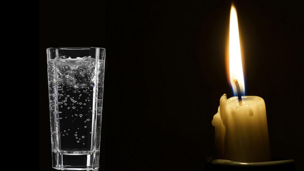 Заговор «Стакан воды»