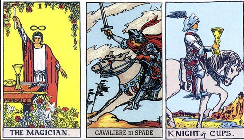 Трактовка карты Рыцарь мечей