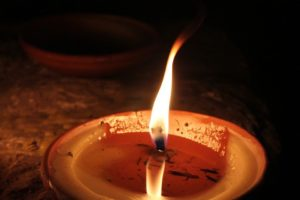 Отливка свечами