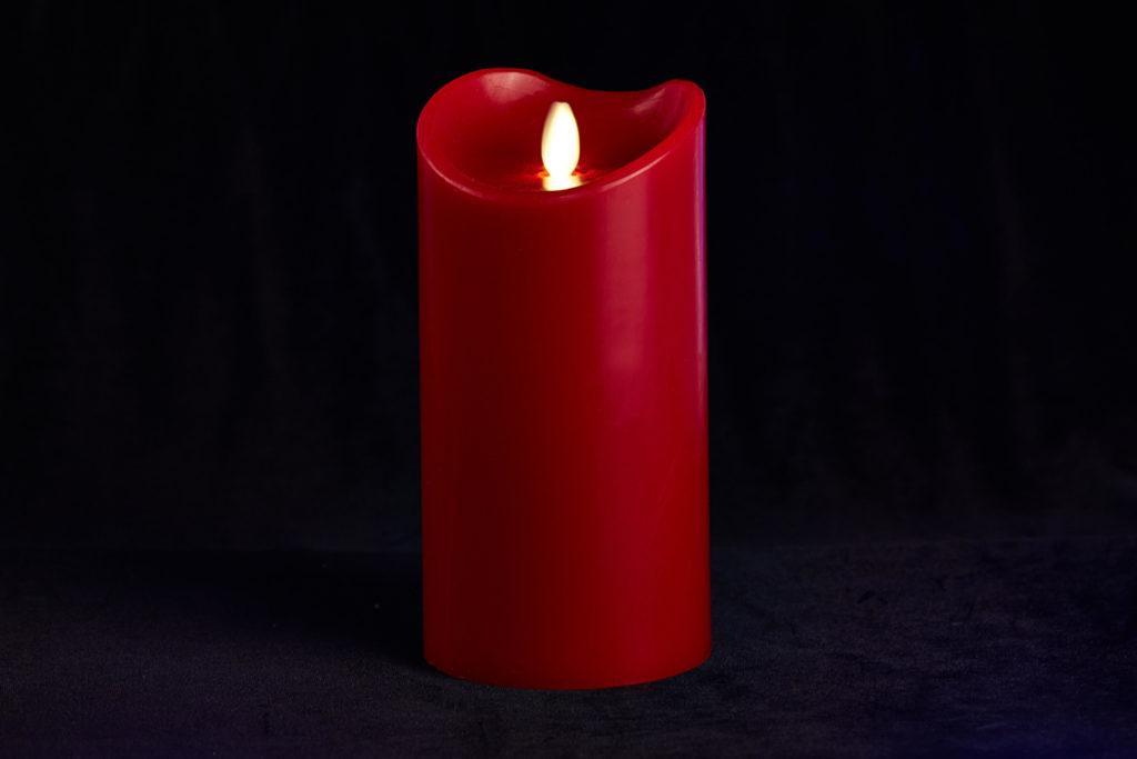 Заклинание с красной свечой