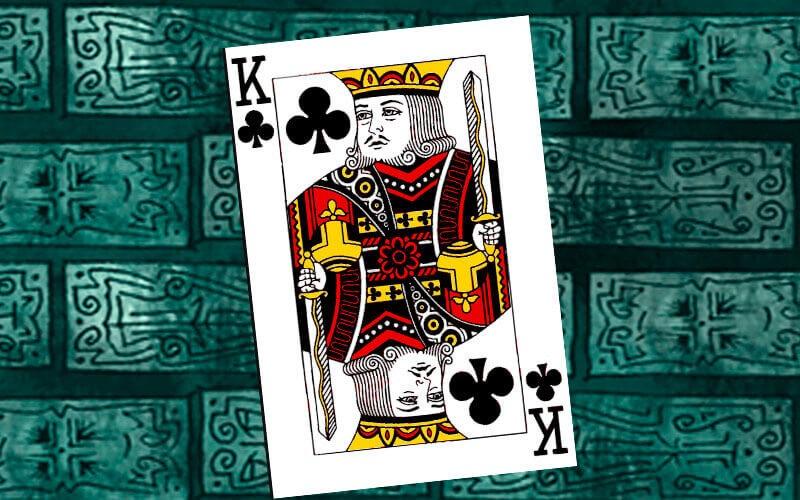 Король треф: значение