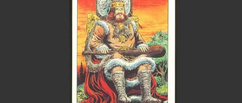 Король Жезлов в Таро