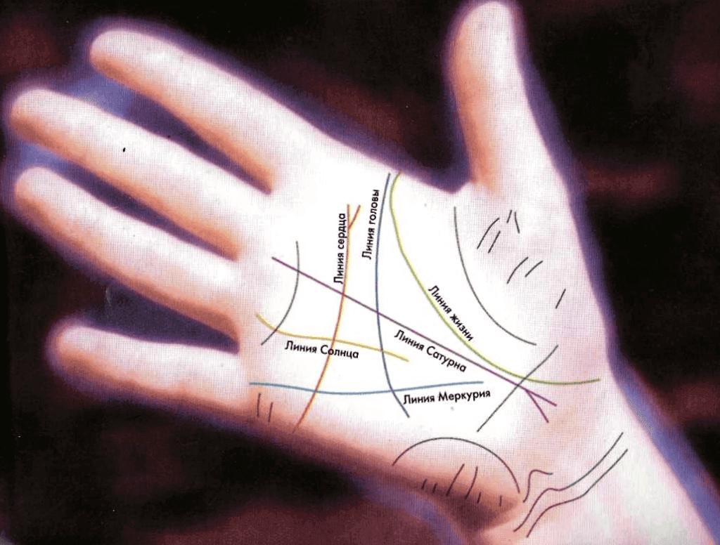 Гадание по большому пальцу руки с картинками