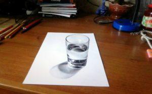 Стакан заговоренной воды
