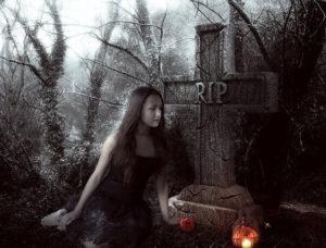 Кладбищенский ритуал на приворот