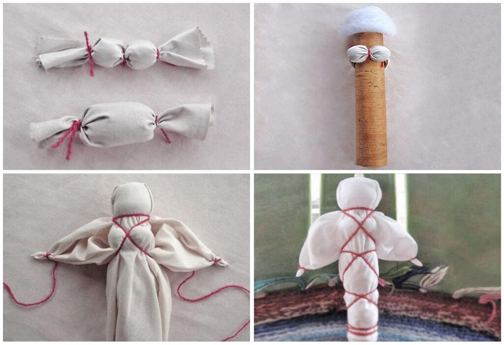 Кукла-оберег пошагово