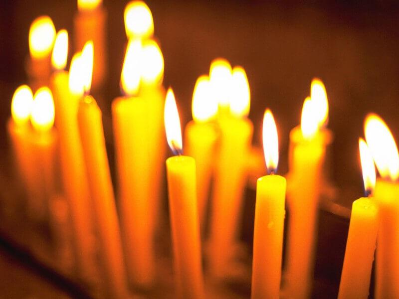 Церковные свечи от ячменя