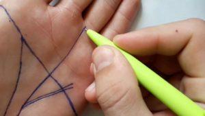 Треугольник на руке