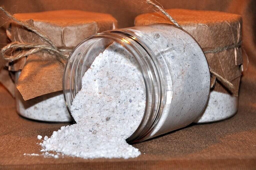 Магическая защита на соль