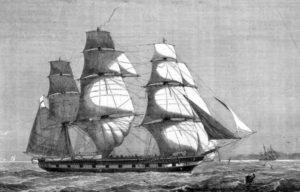 Британское учебное судно Атланта