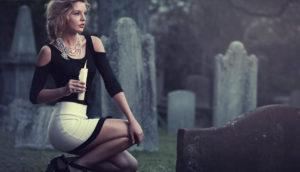 Фотосессии на кладбище