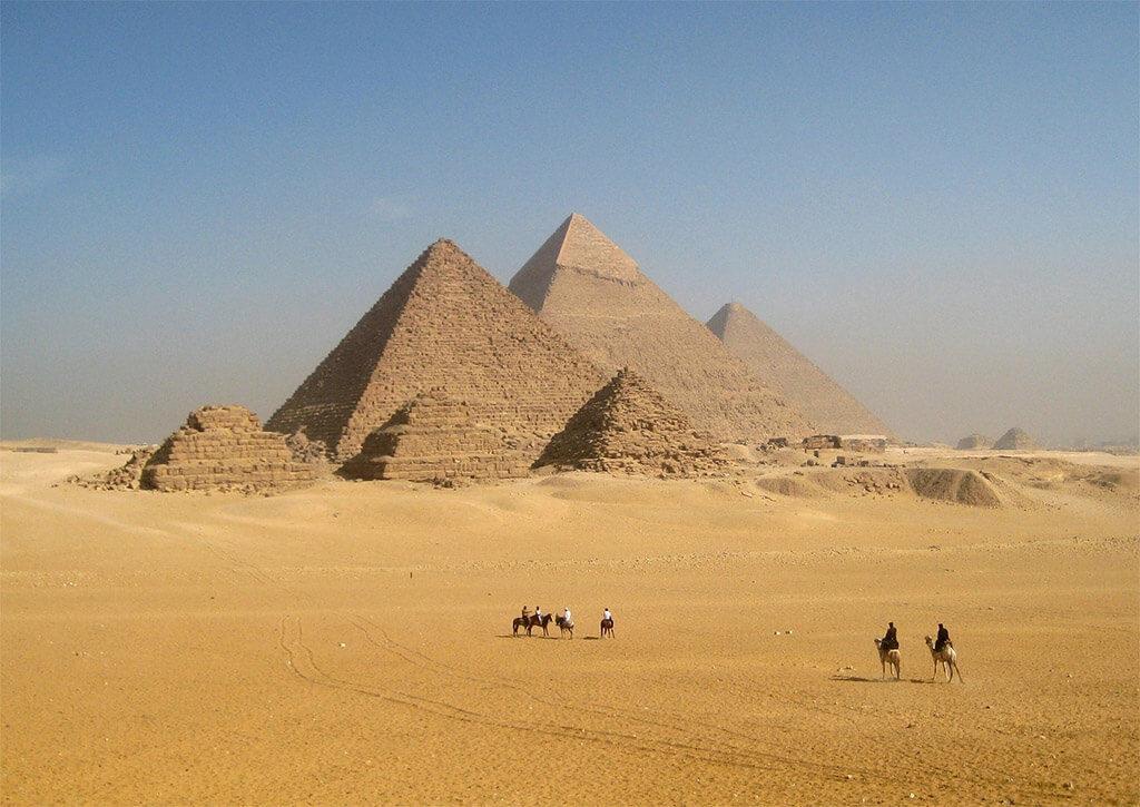 Необычные пирамиды