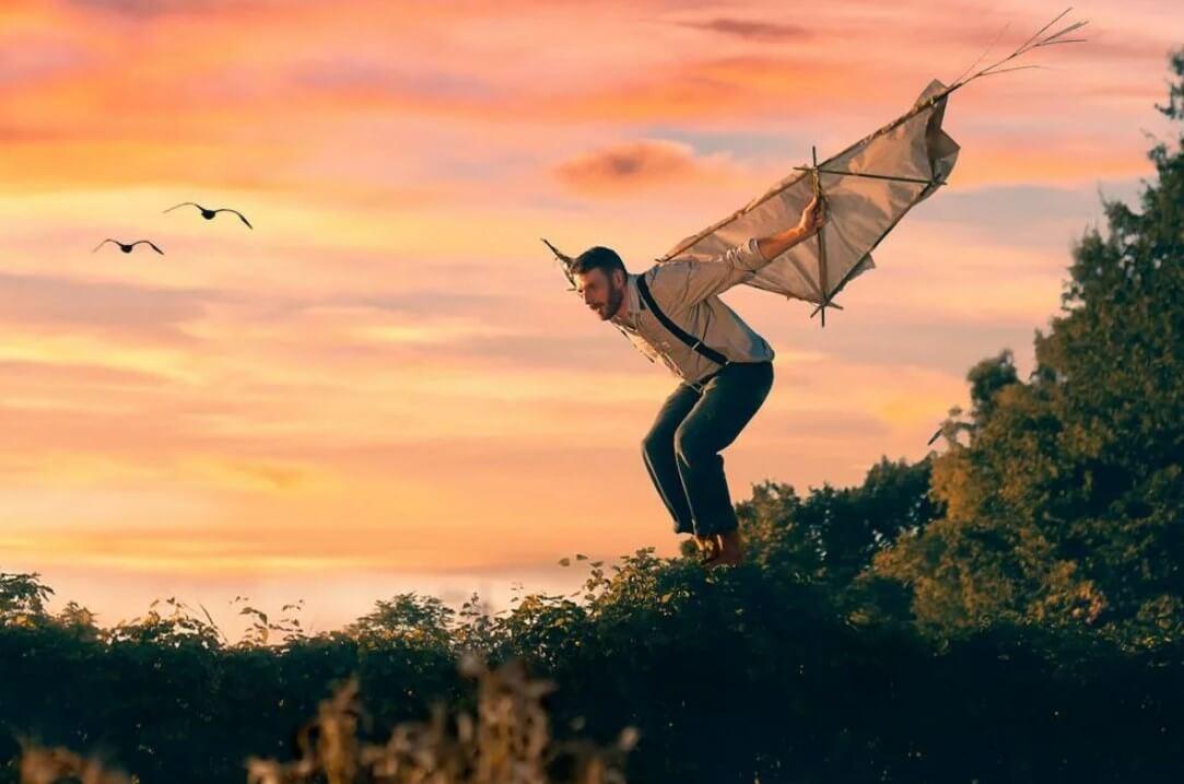 Научиться летать