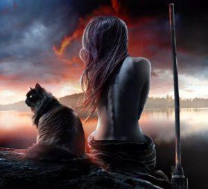 Ведьма с котом