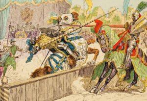 Гибель Генриха II на рыцарском турнире