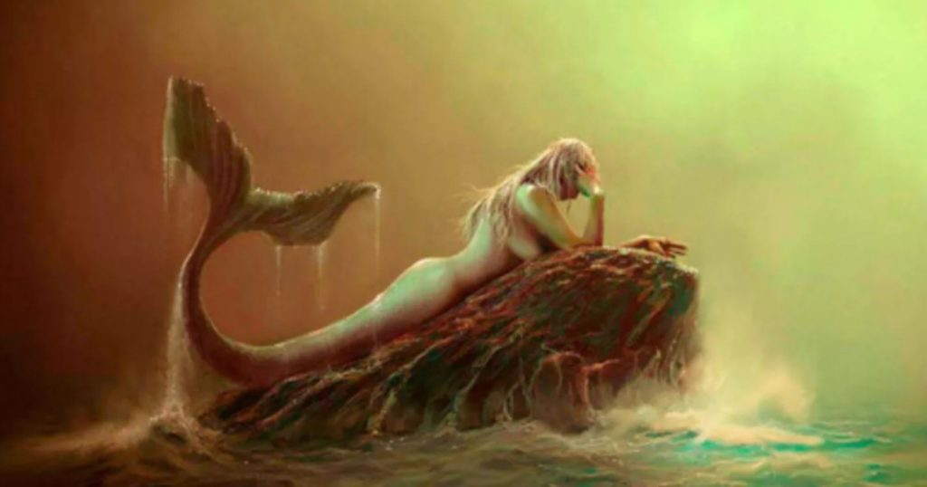 Как выглядит русалка