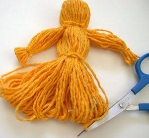 Изготовление куклы, шаг 4
