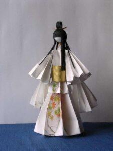 кукла оригами