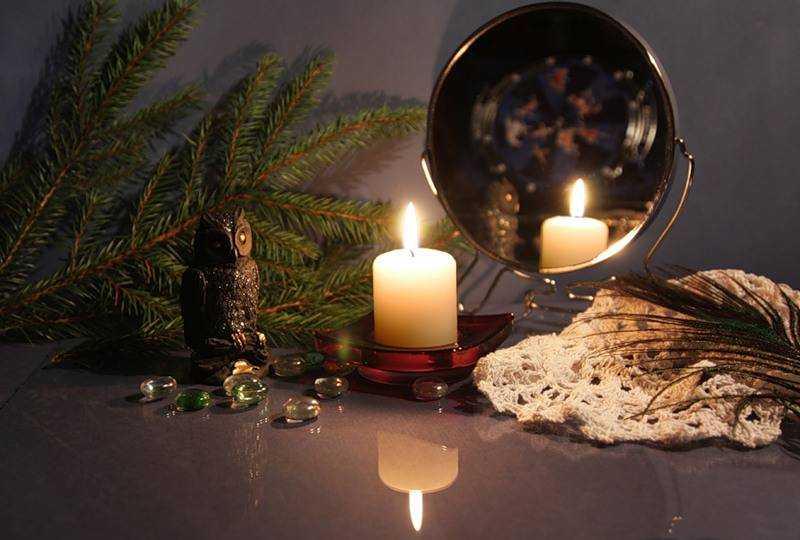 гадание на свечах рождество